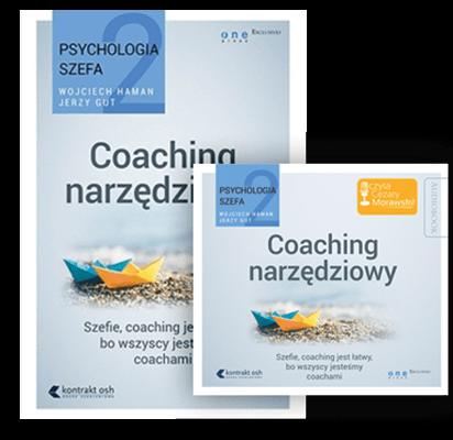 Coaching narzędziowy. Psychologia szefa. Zestaw książka i audiobook Wojciech Haman i Jerzy Gut